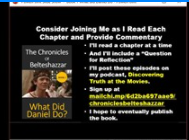 Chronicles of Belteshazzar chapter 2